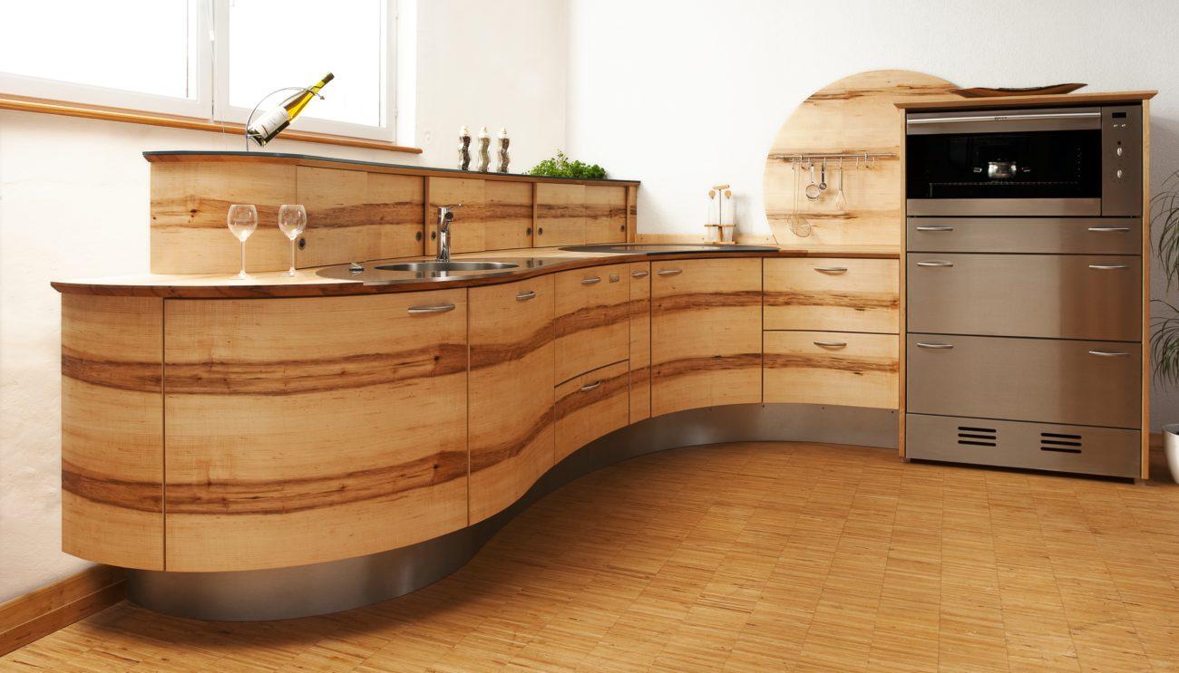 Full Size of Vollholzküche Holzkche Was Ist Der Unterschied Zwischen Massivholz Küche Vollholzküche