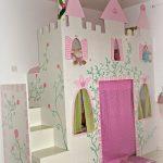 Prinzessin Bett Zimmereinblick Der Kleinen Kinderzimmer Dekor Luxus Betten Japanisches Mit Matratze Und Lattenrost 140x200 Ottoversand Poco Schwarz Weiß Bett Prinzessin Bett