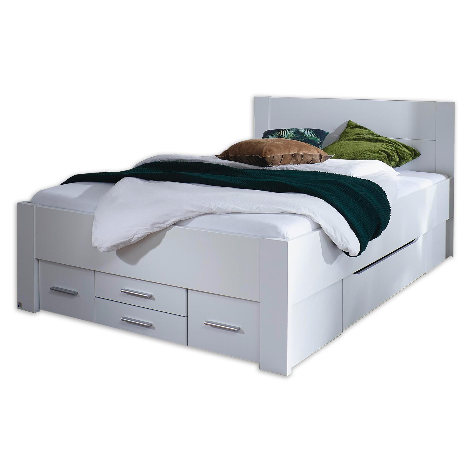 Full Size of Bett 140x200 Weiß Bettgestell Alpinwei 6 Schubksten Cm Online Bei Schwarz 90x200 120x200 Betten Test Xxl Bock 140 X 200 Französische Für übergewichtige Bett Bett 140x200 Weiß