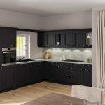 Landhausküche Küche Stilvolle Landhauskche In L Form Mit Granitarbeitsplatte Moderne Landhausküche Weiß Grau Weisse Gebraucht