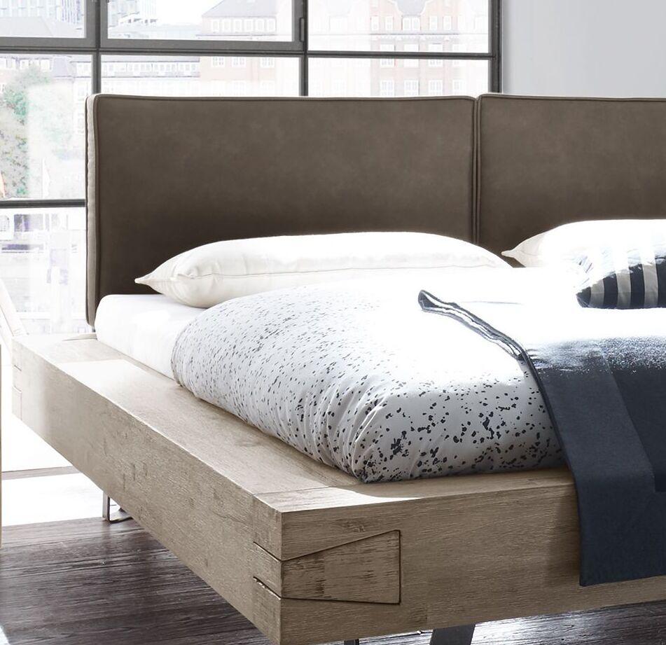 Full Size of Luxus Bett Balkenbett In Massiver Akazie Mit Gepolstertem Kopfteil Jaronia Paidi Rauch Betten 140x200 220 X 200 Tojo Bettkasten Rückenlehne Günstig Kaufen Bett Luxus Bett