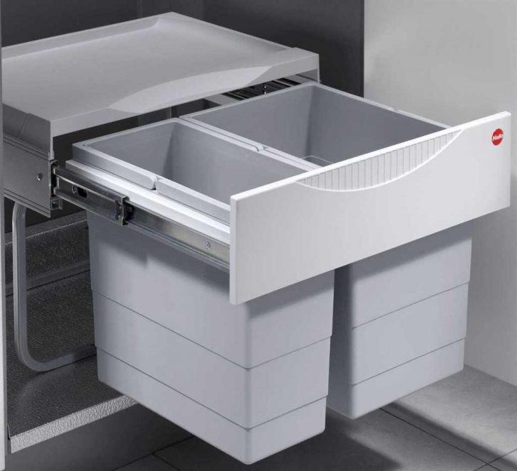 Medium Size of Müllsystem Küche Mlleimer Kche 30 L Hailo Tandem Abfalleimer Ml Real Oberschrank Mit Elektrogeräten Günstig Aufbewahrungsbehälter Nischenrückwand Küche Müllsystem Küche