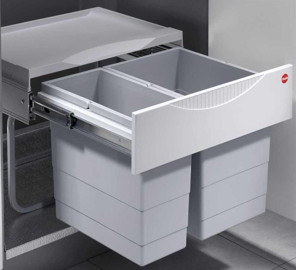 Full Size of Müllsystem Küche Mlleimer Kche 30 L Hailo Tandem Abfalleimer Ml Real Oberschrank Mit Elektrogeräten Günstig Aufbewahrungsbehälter Nischenrückwand Küche Müllsystem Küche