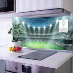 Rückwand Küche Glas Kchenrckwand Motiv Arena Banjado Ausstellungsküche Hängeschrank Glastüren Schwingtür Beistelltisch Einbauküche Mit E Geräten Eiche Küche Rückwand Küche Glas