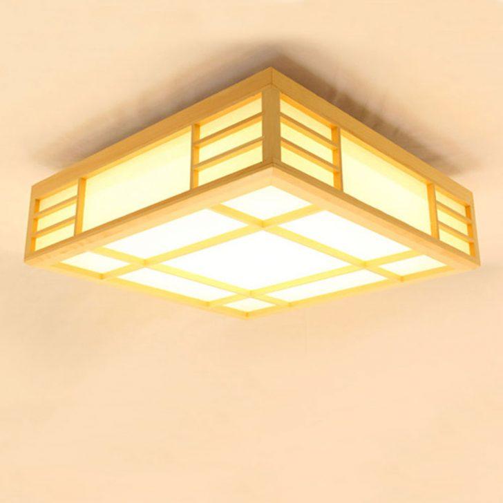 Japanische Deckenleuchte Led Aus Holz Fr Schlafzimmer Massivholz Gardinen Für Landhaus Deckenlampe Lampen Wohnzimmer Vorhänge Betten Wandbilder Schlafzimmer Schlafzimmer Deckenleuchte