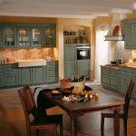 Landhauskche Rustikal In Fichte Und Feige Einbauküche Mit Elektrogeräten Küche Industriedesign Einlegeböden Selber Bauen Raffrollo Wandfliesen Müllsystem Küche Küche Rustikal