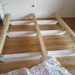 Bett Balken Wir Bauen Ein Holzhaus Diy Kinder Betten 160x200 Bambus 140x200 Ohne Kopfteil Kleinkind Mit Bettkasten Rückenlehne Wohnwert Günstig Kaufen Bett Bett Balken