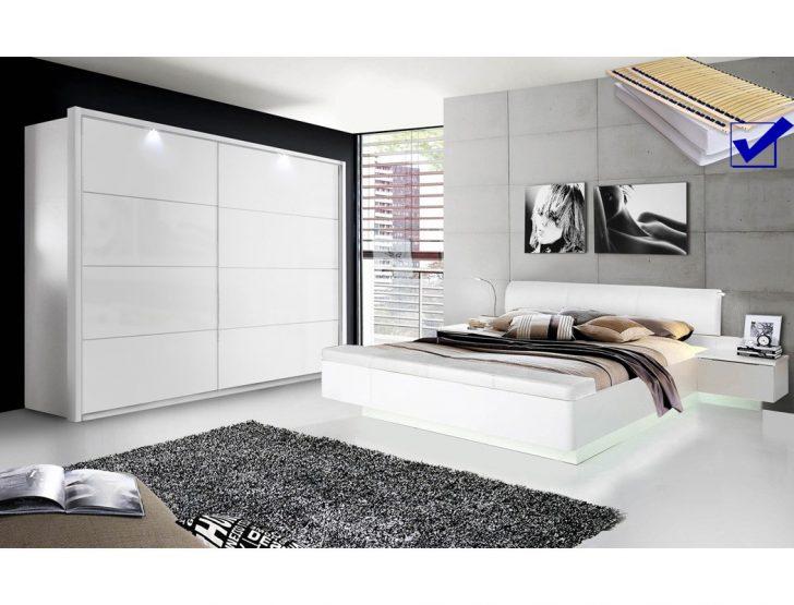 Medium Size of Komplette Schlafzimmer Sophie 20b Wei Hochglanz Doppelbett Komplett Schrank Günstige Deko Landhausstil Weiß Regal Klimagerät Für Rauch Set Mit Schlafzimmer Komplette Schlafzimmer