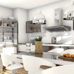 Küche Mit Edelstahl Und Glaselementen Küche Edelstahlküche
