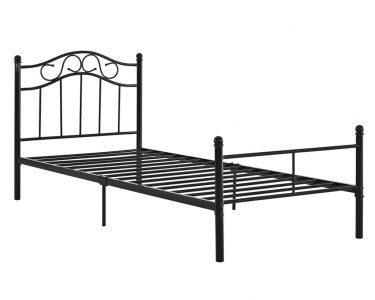 Metall Bett Bett Metall Bett Encasa Metallbett 90x200 Schwarz Bettgestell B Real 160x200 Mit Lattenrost Und Matratze Betten 200x220 Clinique Even Better Japanische