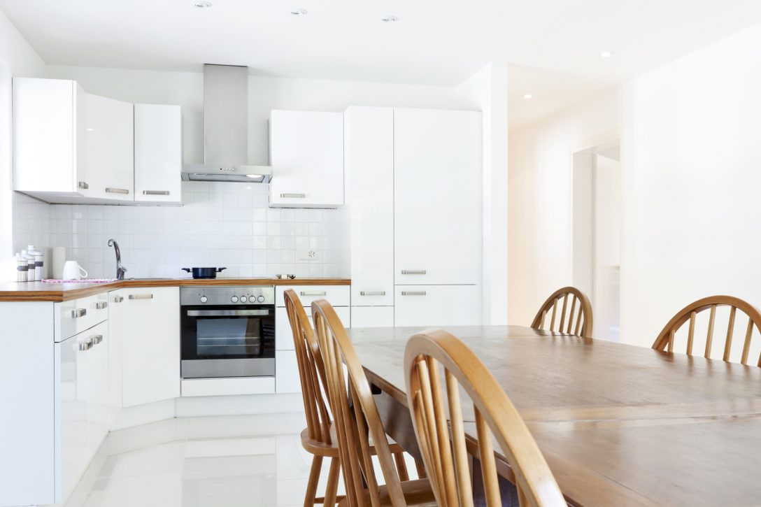 Large Size of Interior House, Large Modern Kitchen, Dining Table Küche Einbauküche L Form