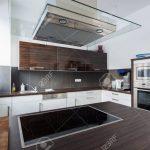 Interior Of A Modern Fitted Kitchen Küche Einbauküche Mit Elektrogeräten