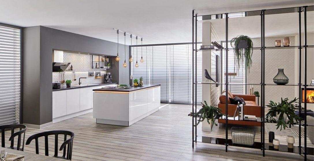 Large Size of Küche Industrial Style So Gestalten Sie Kche Urban Blanco Mit Elektrogeräten Günstig Möbelgriffe Mintgrün Pantryküche Kühlschrank Hochglanz Grau Küche Küche Industrial