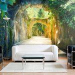 Wandbilder Schlafzimmer Schlafzimmer Wandbilder Schlafzimmer Landschaft Xxl Wald Vorhänge Günstige Sessel Landhaus Deckenleuchte Komplettangebote Fototapete Regal Kommoden Komplett