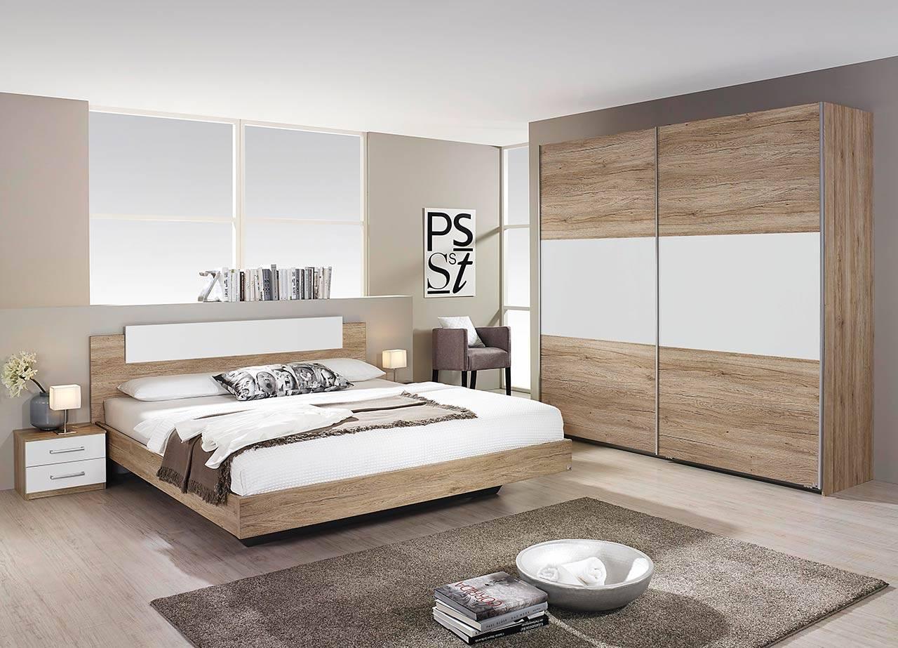 Full Size of Schlafzimmer Komplett Set 4 Teilig San Gnstig Online Kaufen Romantische Wandlampe Kommode Weiß Günstige Günstig Lampen Vorhänge Bett 160x200 Regale Schlafzimmer Günstige Schlafzimmer Komplett