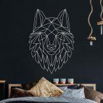 Wandtattoo Geometrischer Wolf Polygonaler Stil Wanddeko Fr Flur Nolte Schlafzimmer Schimmel Im Wandleuchte Wandtattoos Küche Regal Eckschrank Deckenleuchte Schlafzimmer Wandtattoos Schlafzimmer