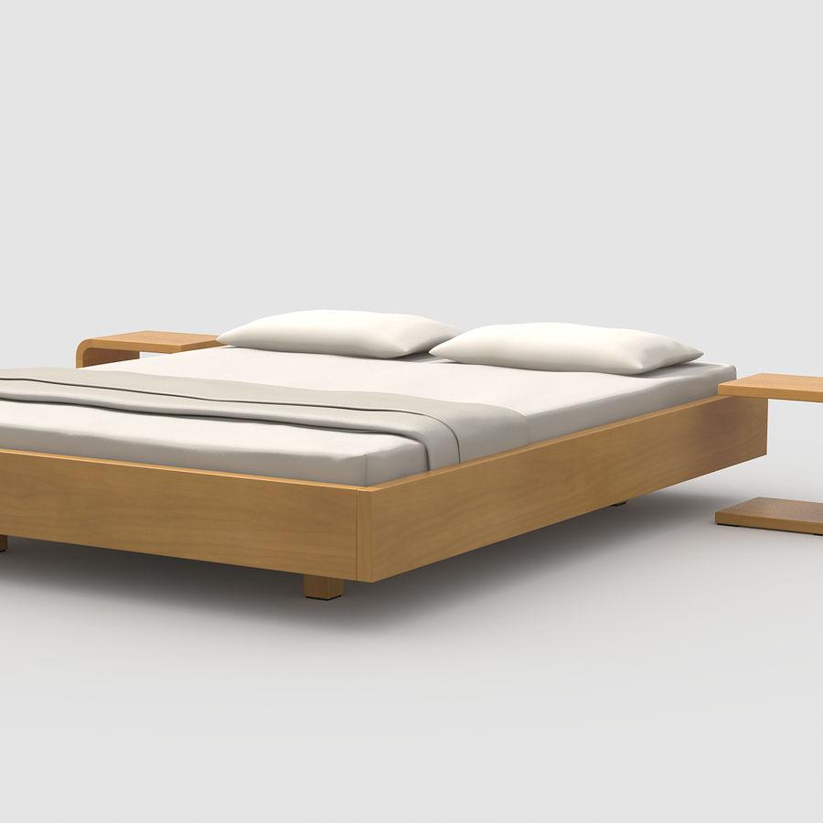 Full Size of Einfaches Bett Eiche 3d Modell 4 Mafb3ds Mit Schubladen 90x200 Weiß Stauraum Cars Rauch Betten 180x200 Bettkasten Kleinkind Wohnwert Schwarzes Stapelbar Bett Einfaches Bett