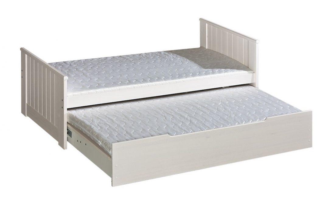 Large Size of Bett Mit Ausziehbett Doppelbett Tomi Massivholz Kiefer Ebay 180x200 Bettkasten 120x200 Eckküche Elektrogeräten 140x200 Ohne Kopfteil Inkontinenzeinlagen Bett Bett Mit Ausziehbett