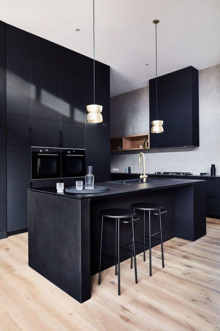 Medium Size of Fliesen Für Schwarze Küche Schwarze Küche Mit Holz Schwarze Küche Mit Schwarzer Arbeitsplatte Schwarze Küche Matt Ikea Küche Schwarze Küche