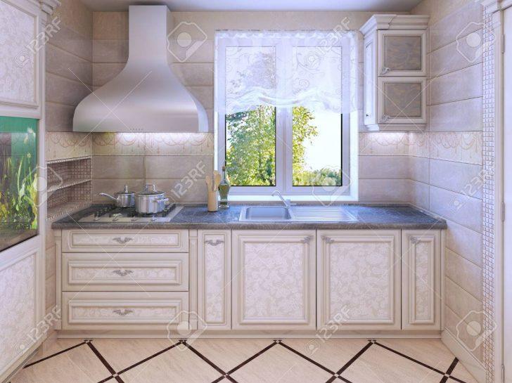Medium Size of Luxury Kitchen In Private House Küche Fliesen Für Küche