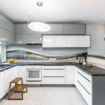 High Gloss Kitchen Idea Küche Fliesen Für Küche