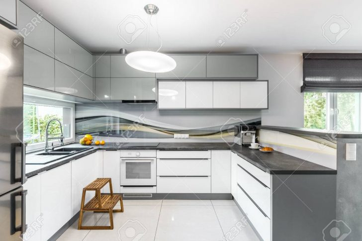 Medium Size of High Gloss Kitchen Idea Küche Fliesen Für Küche