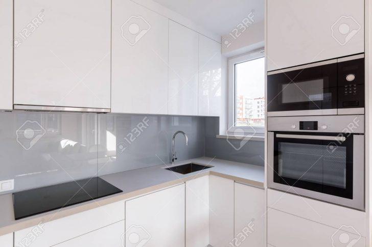 Medium Size of Modern Kitchen With White Cupboards Küche Fliesen Für Küche