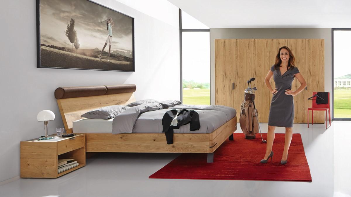 Full Size of Hülsta Bett Hlsta Fena Mit Polsterkopfteil In Verschiedenen Maen 160x220 Metall Leander überlänge Selber Bauen 180x200 Amerikanisches Massivholz Weiß Bett Hülsta Bett