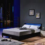 Led Bett Astro 160 200 Schwarz Klassisches Real Günstig Mit Aufbewahrung 160x200 Lattenrost Futon Boxspring Hohes Kopfteil 2x2m Japanische Betten Luxus Bett Weißes Bett 160x200