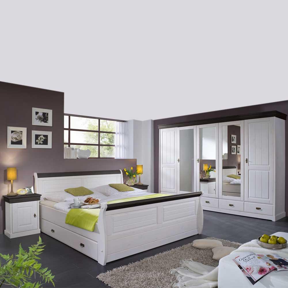Full Size of Schlafzimmerset Tagalog Im Landhausstil Pharao24de Schlafzimmer Mit überbau Regal Komplettangebote Massivholz Wandleuchte Lampe Nolte Weißes Bett 140x200 Set Schlafzimmer Schlafzimmer Set Weiß