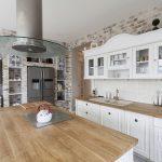Landhausküche Küche Moderne Landhausküche Gebraucht Weisse Weiß Grau