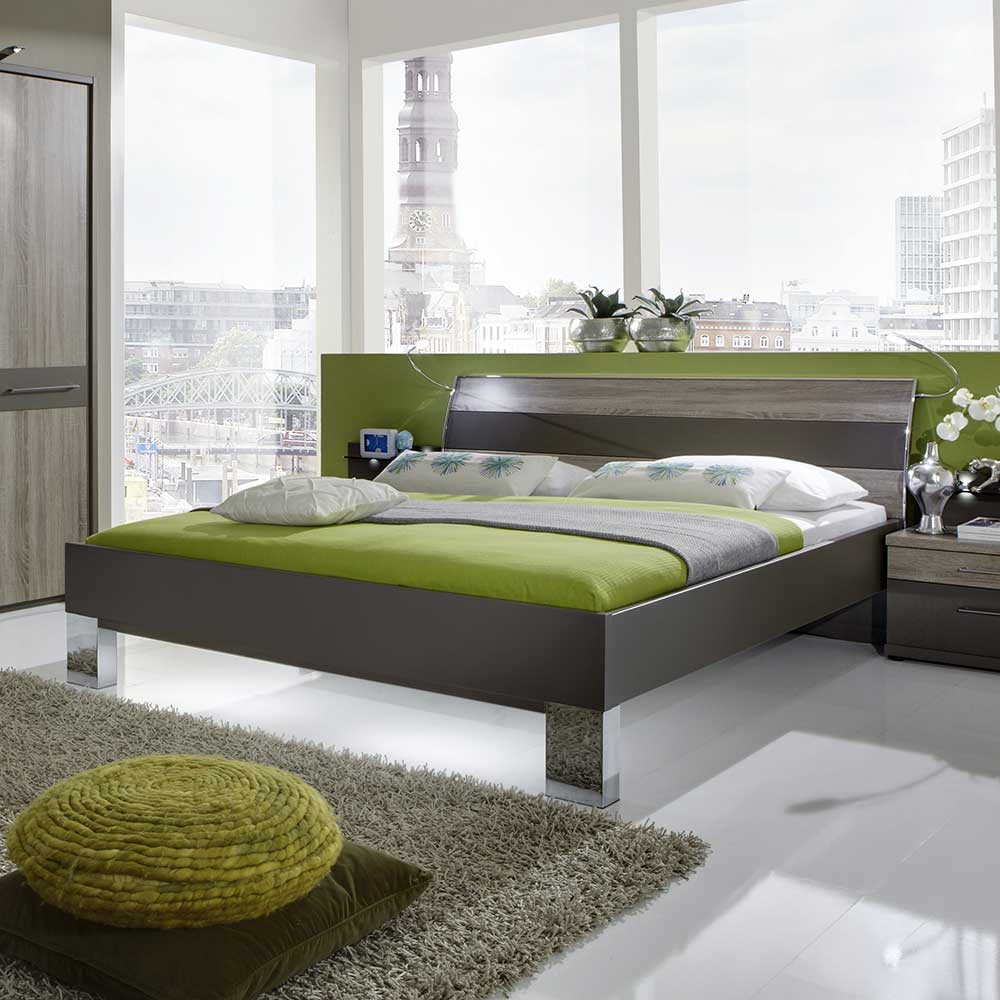 Full Size of Bett Modern Design Italienisches Puristisch Designbett Nevrin In Braun Eiche Trffelfarben Wohnende Moderne Landhausküche Schlafzimmer Betten 1 40x2 00 Ebay Bett Bett Modern Design