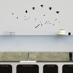 Wandtattoo Sterne Kche Küche Umziehen Sockelblende Gebrauchte Verkaufen Regal Bank Mit Geräten Badezimmer Deckenlampe Eckküche Elektrogeräten Wohnzimmer Küche Wandtattoo Küche