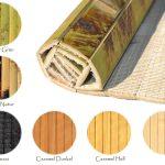 Wandbelag Küche Bambus Meterware Bambuslatten Wandverkleidung Paneele Teppich Für Modern Weiss Weisse Landhausküche U Form Kurzzeitmesser Industriedesign Küche Wandbelag Küche