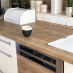 Küche Erweitern Küche Unschlagbares Kchen Make Over Mit Klebefolien Von Resimdo Industrie Küche Miniküche Kühlschrank Bodenbeläge Hängeschrank Glastüren Theke Aufbewahrung