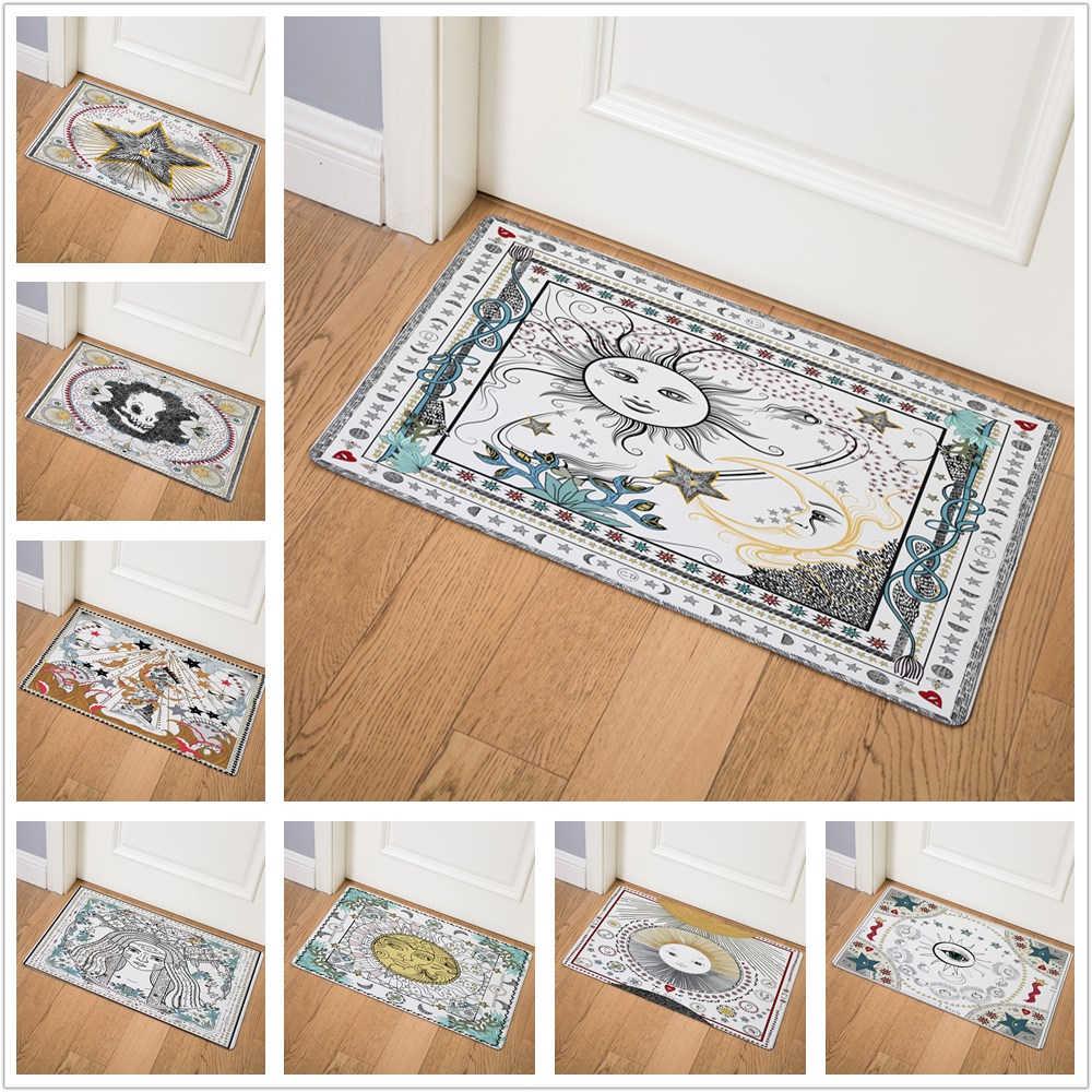 Full Size of Teppich Für Küche Europische Kreative Tarot Karte Tr Outdoor Eingang Granitplatten Spiegelschränke Fürs Bad Nischenrückwand Betten Teenager Eiche Hell Küche Teppich Für Küche
