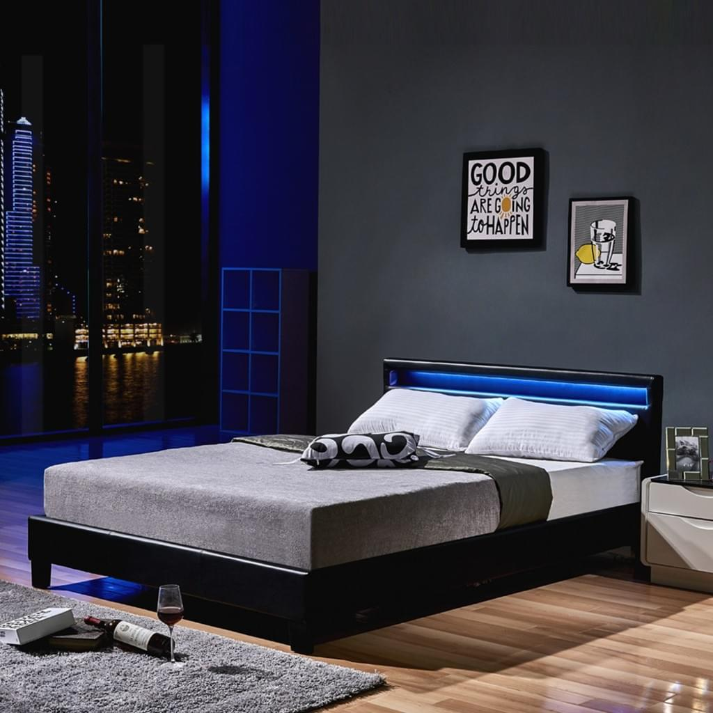 Full Size of Bett Mit Stauraum 160x200 Led Astro 160 200 Schwarz Klassisches Real Bambus Betten Ikea Buche 90x200 Lattenrost Und Matratze Hoch Regal Körben Weiß Kaufen Bett Bett Mit Stauraum 160x200