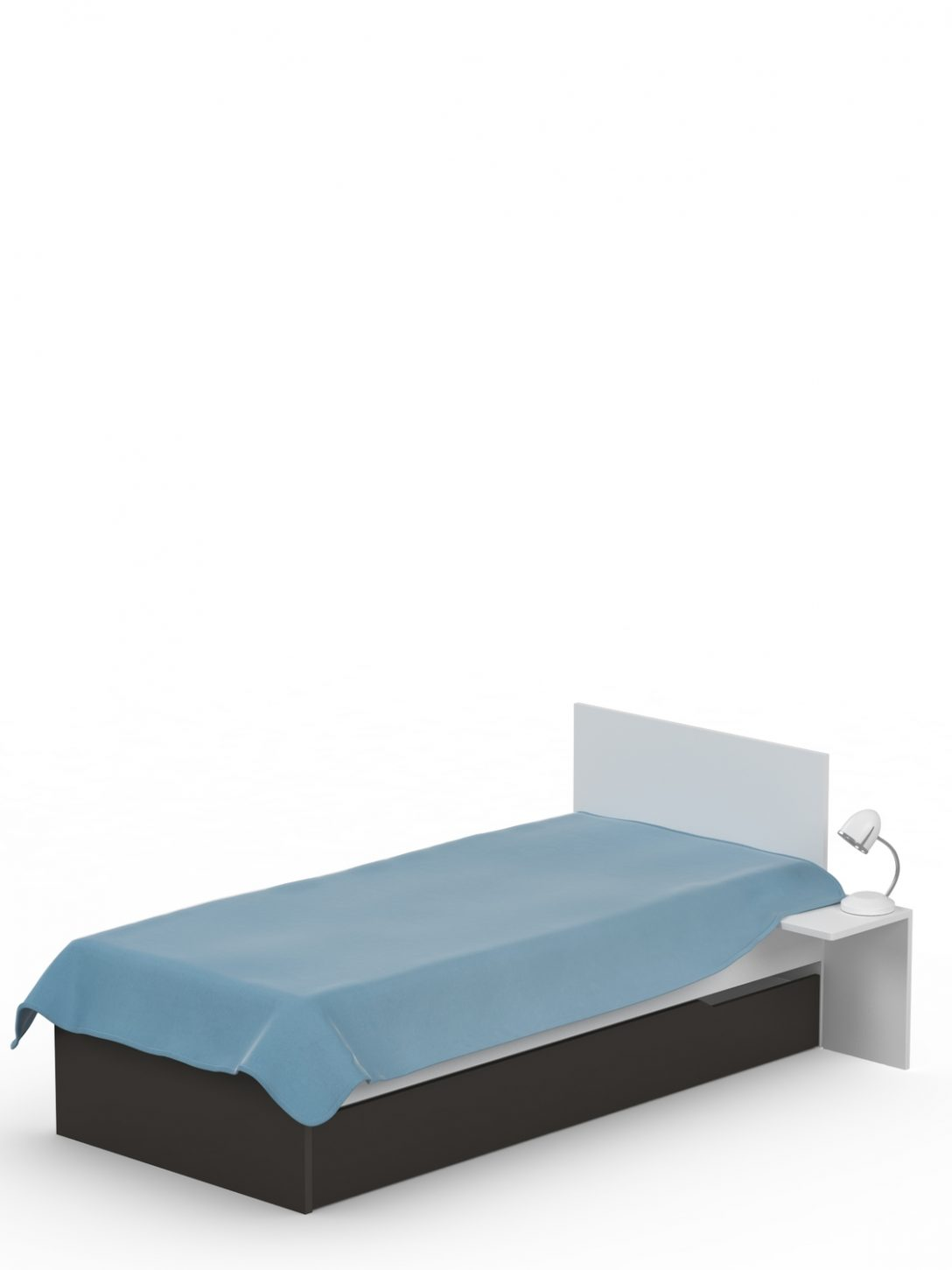 Large Size of Bett 120x200 Uni Dark Meblik Weiß Mit Ausziehbett Hohem Kopfteil Holz Rattan Box Spring Topper Betten Ikea 160x200 Minion Futon Kinder Rückenlehne Stauraum Bett Bett 120x200