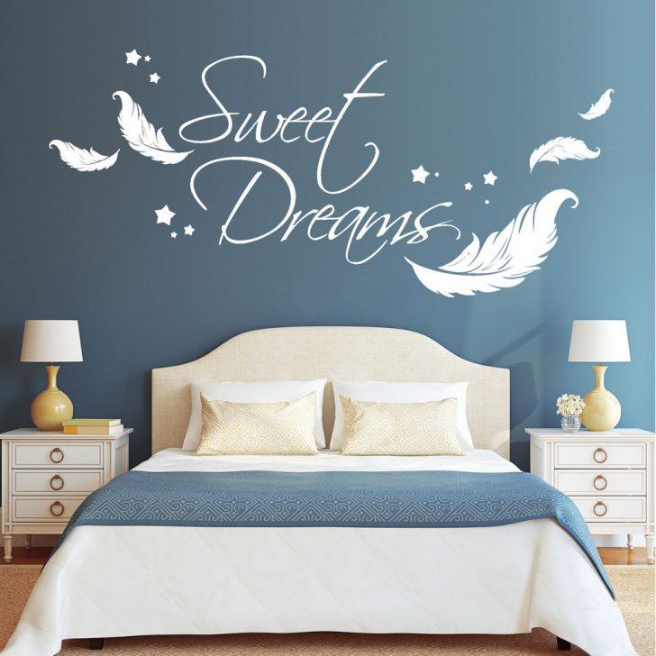 Medium Size of Sweet Dreams Mit Federn Und Sterne Wandtattoos Loft Schlafzimmer Landhaus Lampe Kommode Stehlampe Fototapete Wohnzimmer Komplett Weiß Wandtattoo Lampen Schlafzimmer Wandtattoo Schlafzimmer