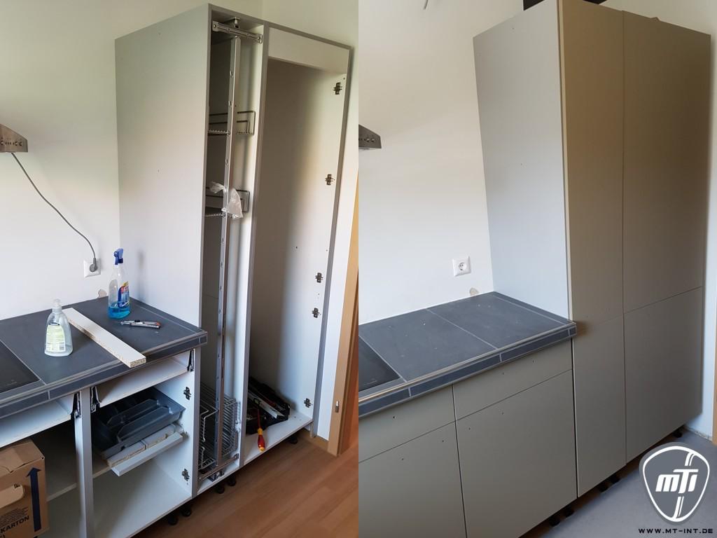 Full Size of Umbau Erweiterung Küche Finish Folierung Küche Gebrauchte Einbauküche
