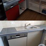 Umbau Erweiterung Küche Unterschrank Finish Folierung Küche Gebrauchte Einbauküche