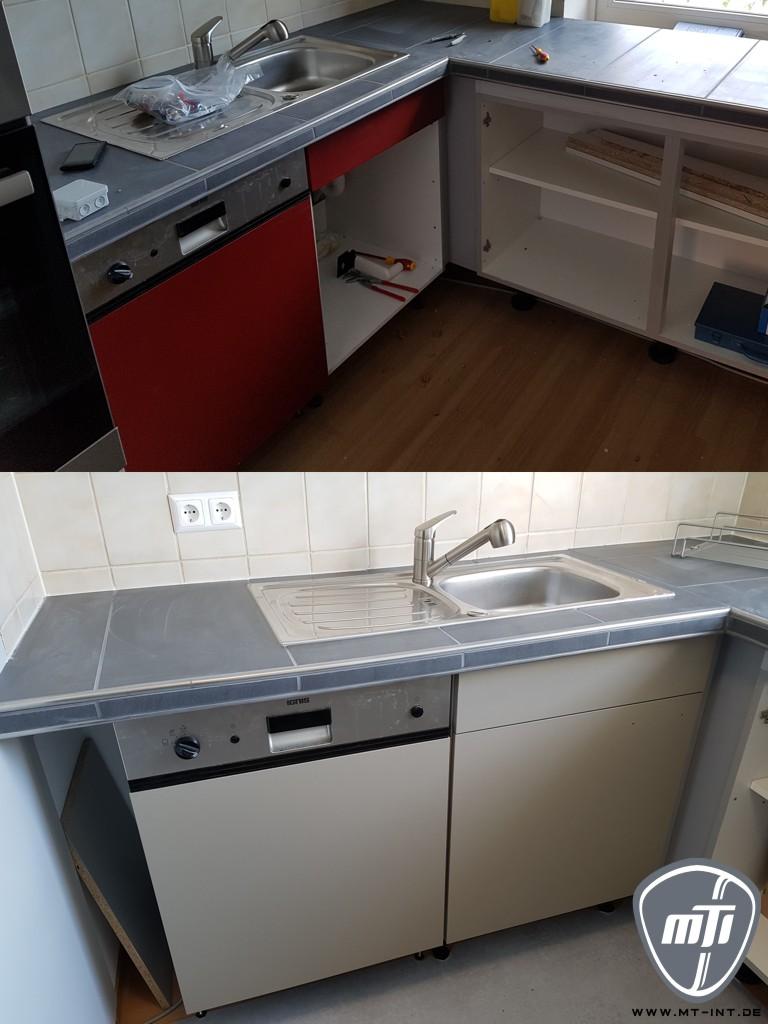 Full Size of Umbau Erweiterung Küche Unterschrank Finish Folierung Küche Gebrauchte Einbauküche