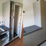 Gebrauchte Küche Küche Umbau Erweiterung Küche Finish Folierung