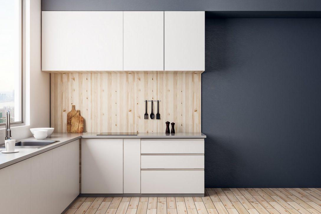 Large Size of Modern Kitchen Interior Küche Grifflose Küche