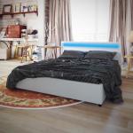 Kunstlederbett Bett Wei 200x180 Led Streifen Matratze Betten Luxus Prinzessin Schramm Sitzbank Coole Amazon Mit Bettkasten 140x200 Kleinkind Holz 1 40x2 00 Bett Bett 200x180