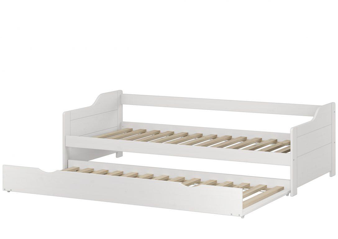 Large Size of Bett 90x200 Weiß Sofabett Doppelbett Bettgestell Einzelbett 180x200 Ausklappbar Sofa Grau Mit Unterbett Betten Outlet Schubladen Hochglanz Regal Runder Bett Bett 90x200 Weiß