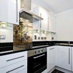 Küche Mit Glasfront Elegant Ideen Glasbilder Küche Spritzschutz Mit Inspirierend Edelstahl Küche Glasbilder Küche