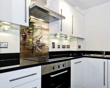 Glasbilder Küche Küche Küche Mit Glasfront Elegant Ideen Glasbilder Küche Spritzschutz Mit Inspirierend Edelstahl