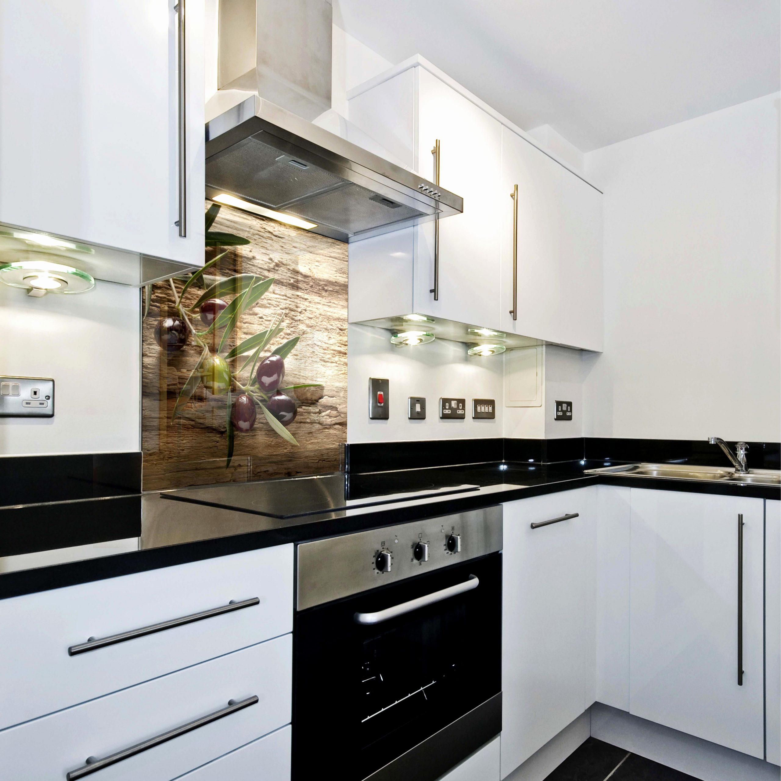 Full Size of Küche Mit Glasfront Elegant Ideen Glasbilder Küche Spritzschutz Mit Inspirierend Edelstahl Küche Glasbilder Küche