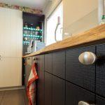 Küche Eiche Küche Küche Eiche Hcker Kche Massiv In Schwarz Und Wei Einbauküche Mit E Geräten Fliesenspiegel Selber Machen Weiches Sofa Kleine Einrichten Eckküche